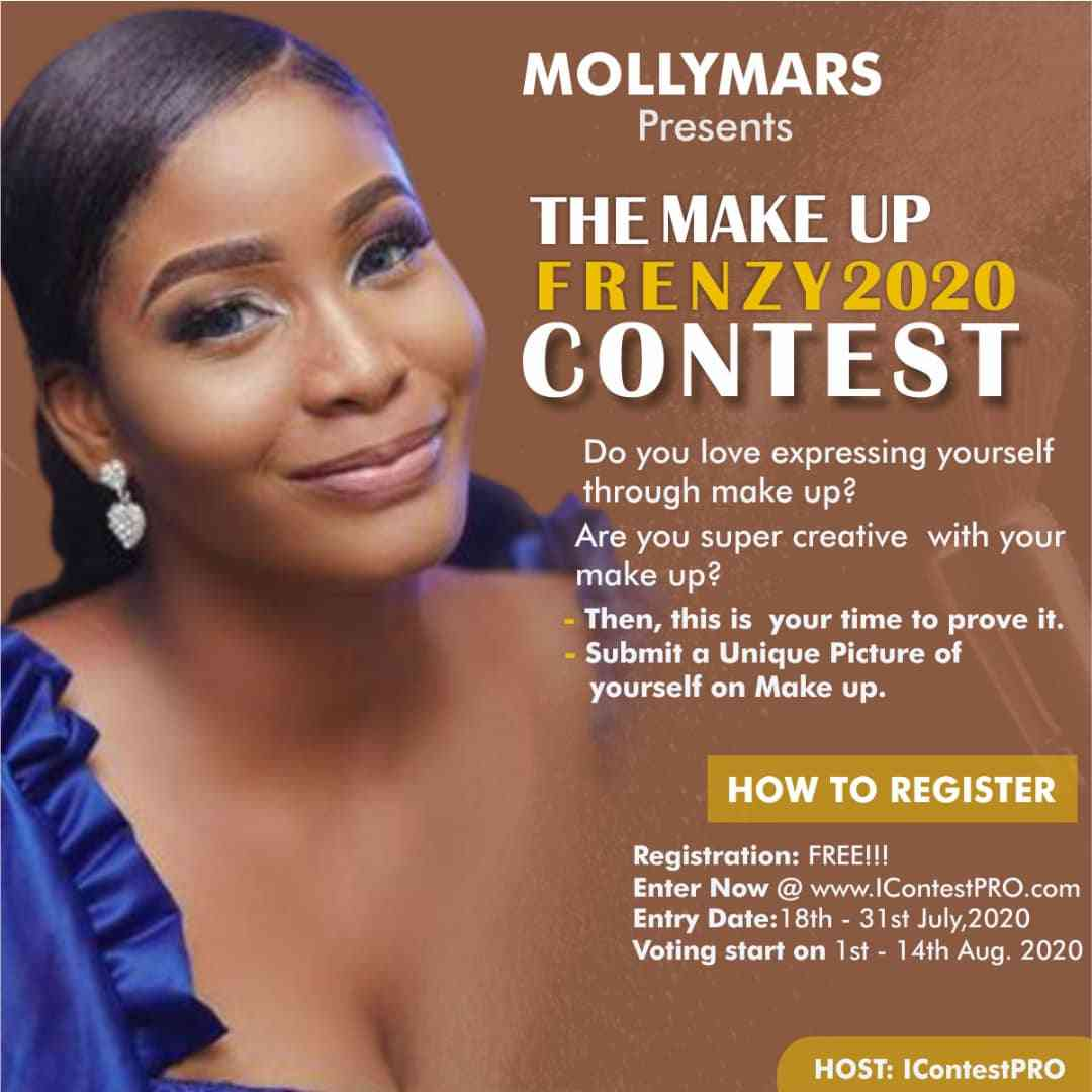THE MAKEUP FRENZY 2020 CONTEST