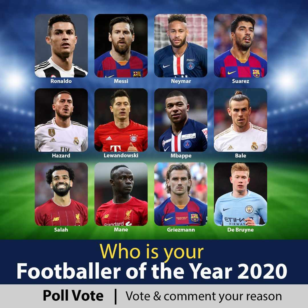 Footballer Of The Year Contest